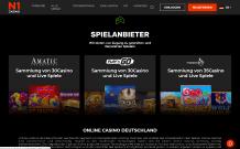 Spielanbieter N1 Casino