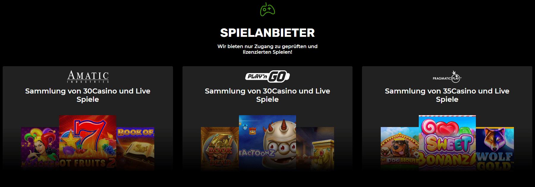 N1 Casino Spiel Anbieter